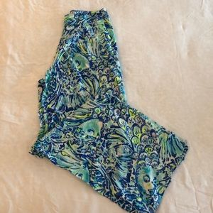 Lilly Pulitzer Size 2 Wide Leg Pants